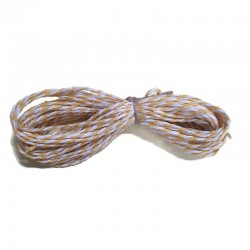 BAKER'S TWINE (Light Yellow & WHITE)