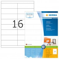 Herma 4264 Superprint 105.0X33.8 (1600s) White