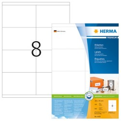 Herma 4426 Superprint 105x70mm (800s) White
