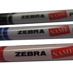 Zebra Name Pen