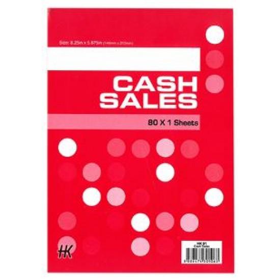 Cash Sales Book HK91