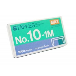 MAX NO.10M STAPLE PINS