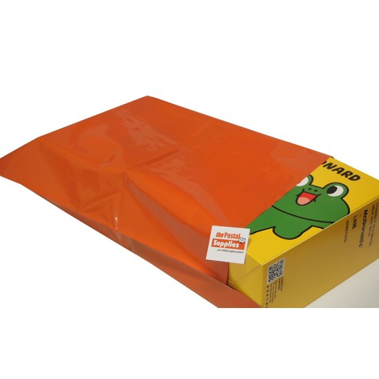 Orange Poly Mailer #M1 26x33cm (Wholesale)