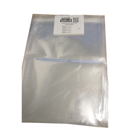 Clear Adhesive Plastic Bag (X-Ray)