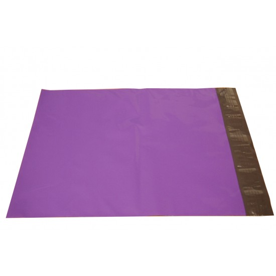 Purple Poly Mailers in 10