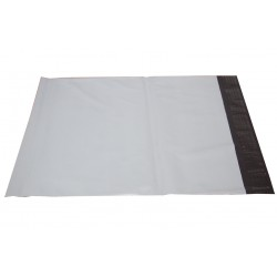 White Poly Mailers in 10