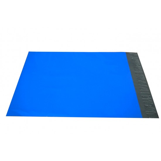 Blue Poly Mailers in 10