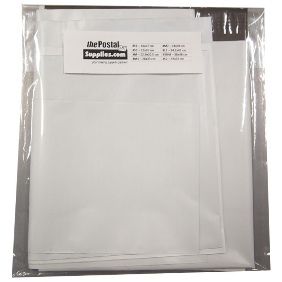 Trial Pack Poly Mailer (8 sizes)