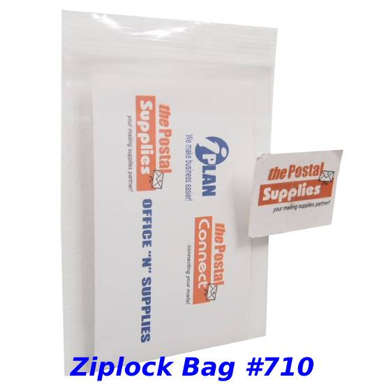 Thick Clear Ziplock Bags (No Red Lines) #710