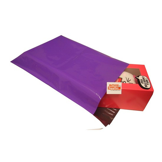 Purple Poly Mailer #M1 26x33cm
