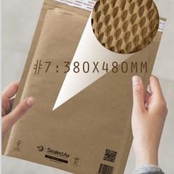 Jiffy Padded Lite Kraft Honeycomb Paper Padded Mailer #7