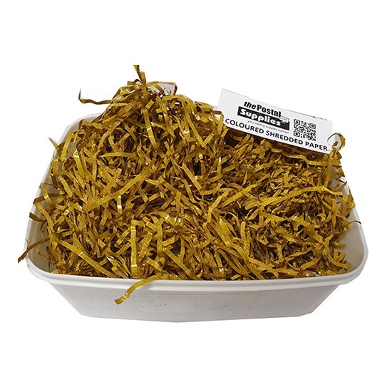 Metallic Gold Shredded Paper Fillers