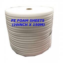 PE Foam Sheets (20inch x 150m)