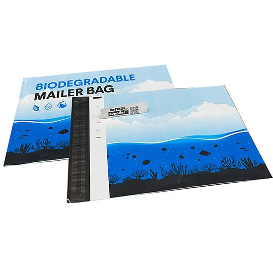 Biodegradable Eco-Friendly Designer PolyMailer Bags [Marine Life]