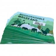 Biodegradable Eco-Friendly Designer PolyMailer Bags [Wildlife]