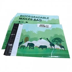 Biodegradable Eco-Friendly Designer PolyMailer Bags [Wildlife]