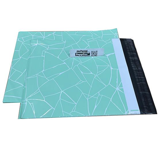 Designer PolyMailer Bags [Mint & White]