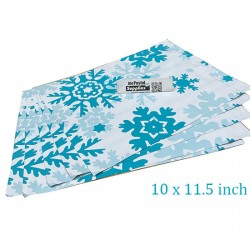 Designer PolyMailer Bags [Snowflake]