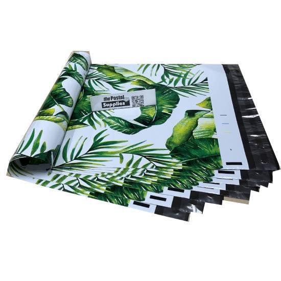 Designer PolyMailer Bags [Green Leaves]