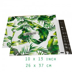 Designer PolyMailer Bags [Green Leaves]