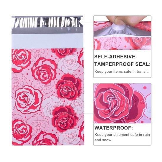 Designer Mailer Bags [Rose]