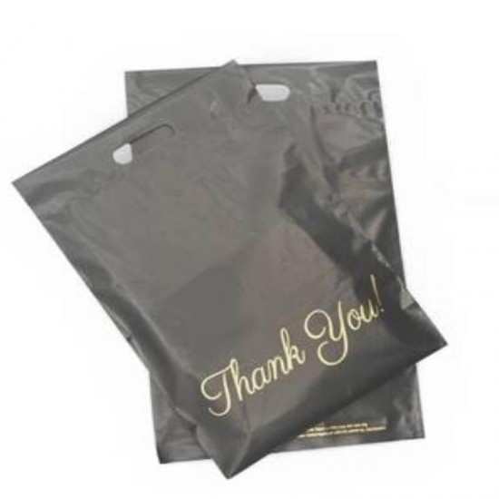 PolyMailer Bags with Handle [Grey Thank You]