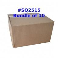 Postal Box Size SQ2515 [SQUARE] - Wholesale