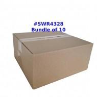RSC Single Wall Postal Box Size SWR4328 - Wholesale