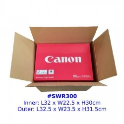 RSC Single Wall Postal Box Size SWR300
