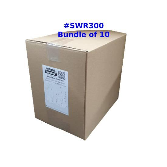 RSC Single Wall Postal Box Size SWR300 - Wholesale