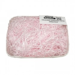 Light Pink Shredded Paper