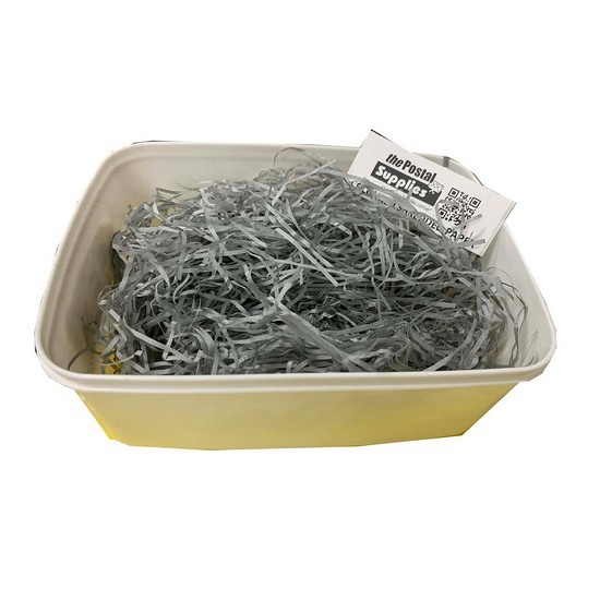 Grey Shredded Paper