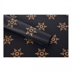 20pcs Designer Printed Tissue Papers - Snow Flakes
