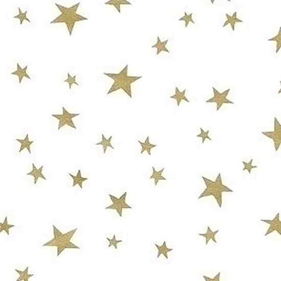 20pcs Designer Printed Tissue Papers - Mix Stars 45x78cm
