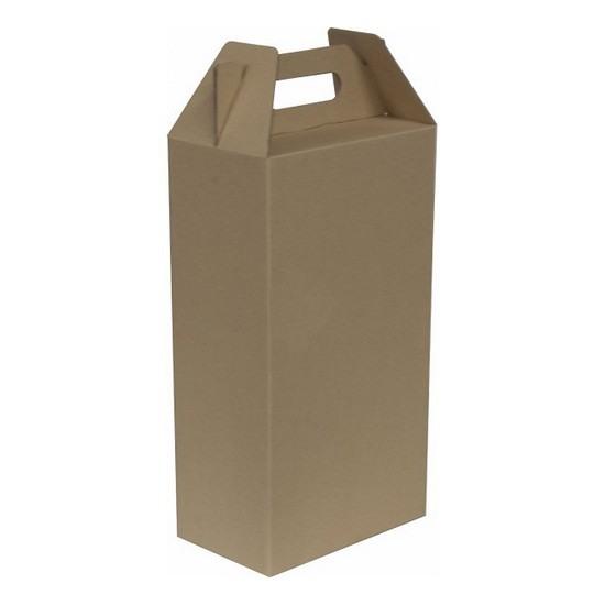 KRAFT WINE BOX #GH-01 (10PCS/ BUNDLE) *Pre-Order; No Exchange/ Return*