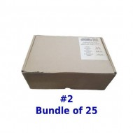 Postal Box Size 2 (S) - 25pcs per bundle