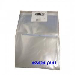 Clear Adhesive Plastic Bag #2434 (A4)