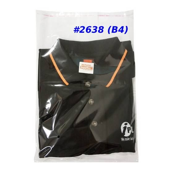 Clear Adhesive Plastic Bag (B4)