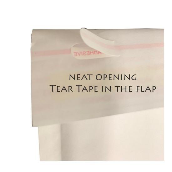 White Kraft Bubble Mailer Bag #2 (10pcs)