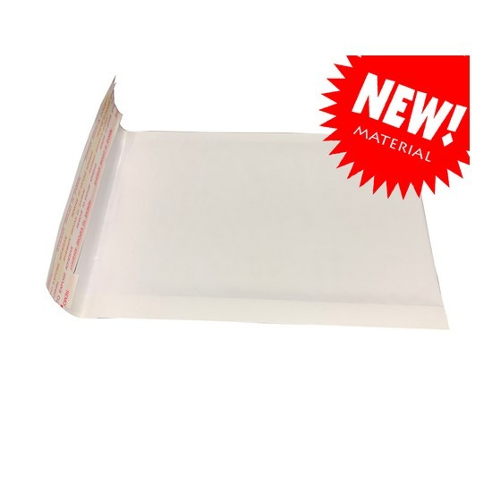 Kraft White Bubble Mailer Bag S5 (10pcs)