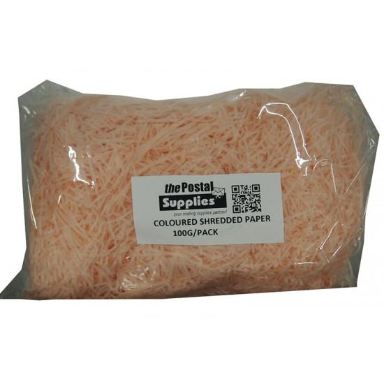 Peach Shredded Paper Fillers