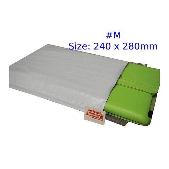 White Poly Bubble Mailer #M (Wholesale)
