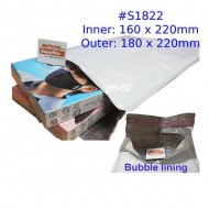 White Poly Bubble Mailer #S1822