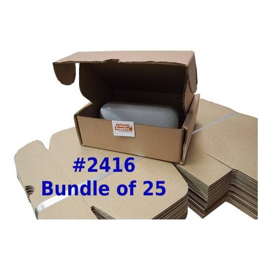 Postal Box Size 2416 - 25pcs per bundle