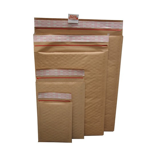Brown Kraft Bubble Mailer #S1223 (#00)