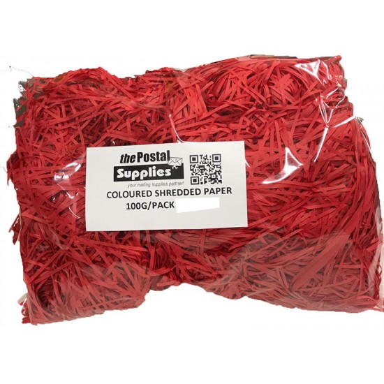 Red Shredded Paper Fillers