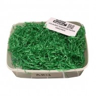 D.Green Shredded Paper