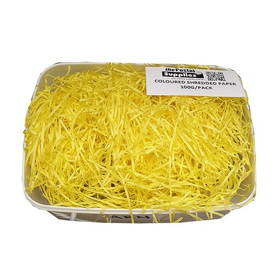 Yellow Shredded Paper