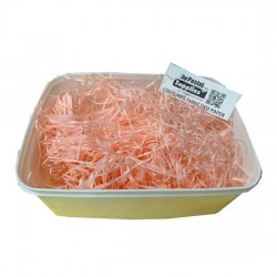 Peach Shredded Paper Fillers