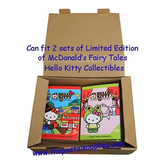 Postal Box Size 2 (S) - 25pcs per bundle